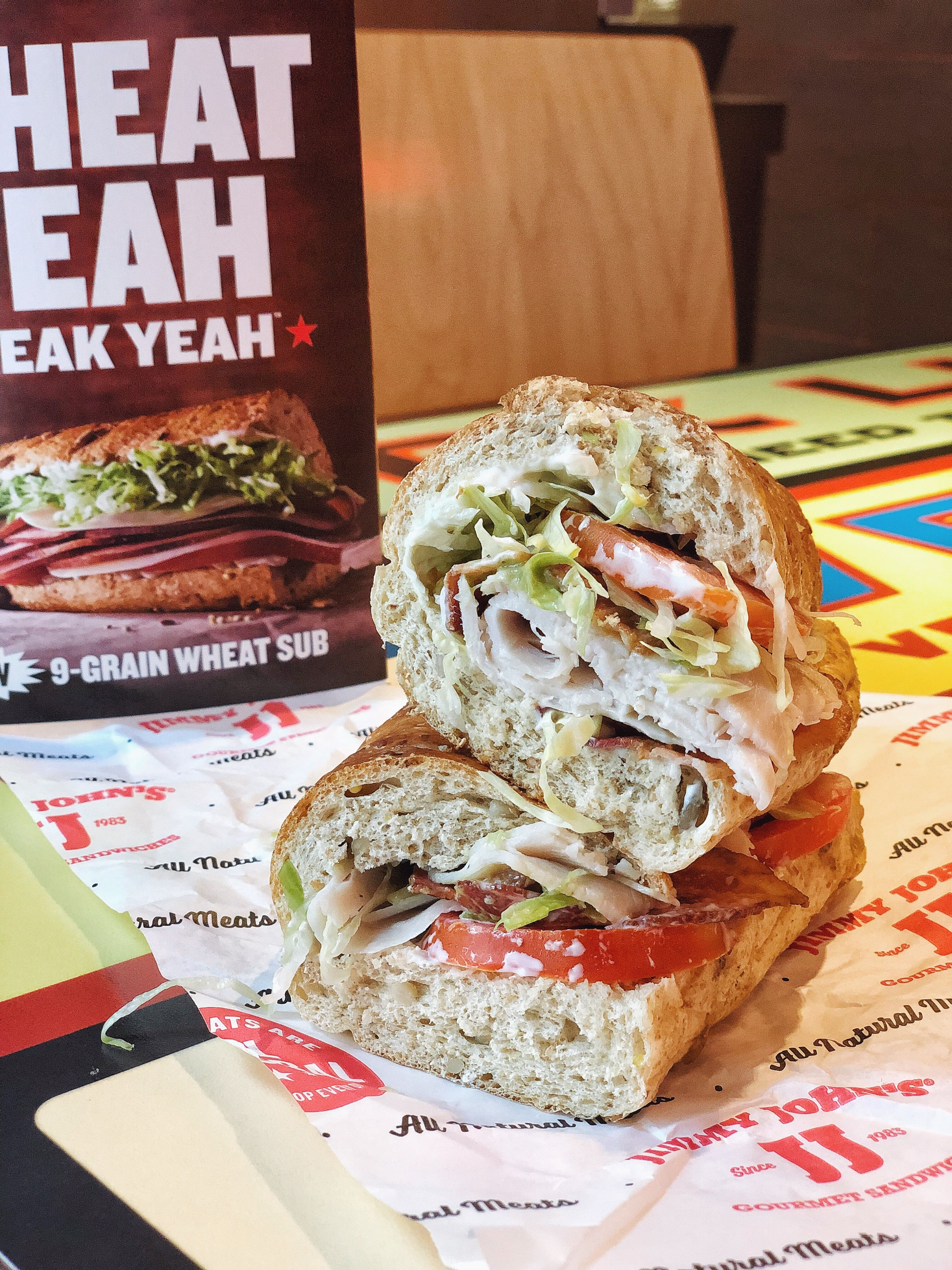 Wheat Yeah, Freak Yeah™! Jimmy John's is taking their