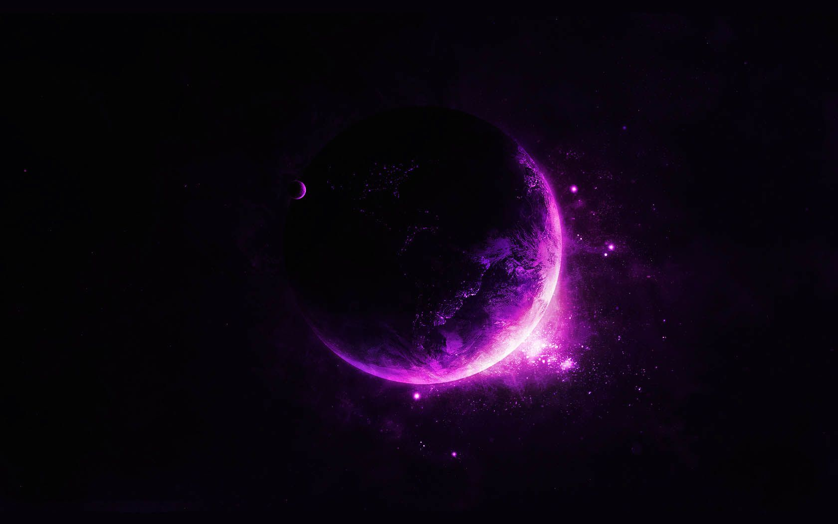 Purple moon wallpaper 3284 hd wallpapers in space - Hd wallpaper for laptop 14 inch ...