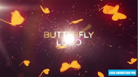 Video Butterfly Logo Reveal Logo Animation Pro Butterfly Logo Logo Reveal After Effects Projects