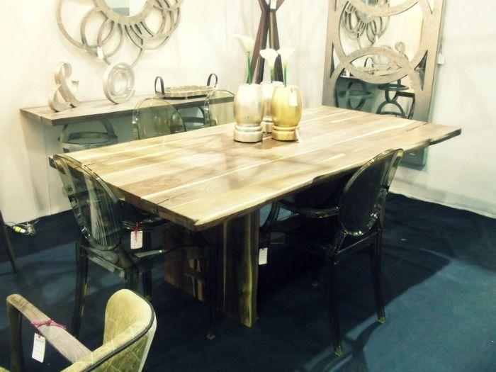 Mesa de comedor en madera de tzalam for Comedor 9 de julio freyre