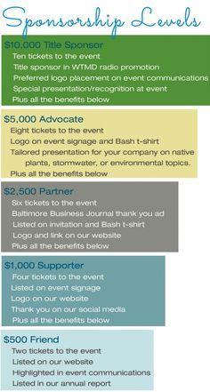 Example Of Sponsorship Levels Fundraising Ideas For Ptas Ptos Sponsorship Levels Donation Letter Fundraising Letter