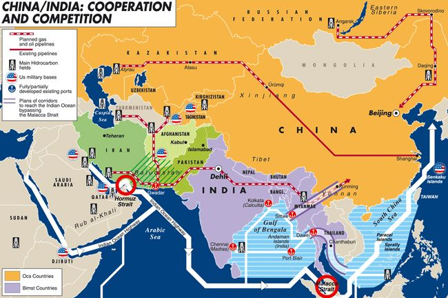 This map brings into focus the geopolitical state centered on this map brings into focus the geopolitical state centered on india and the neighboring bodies of gumiabroncs Image collections