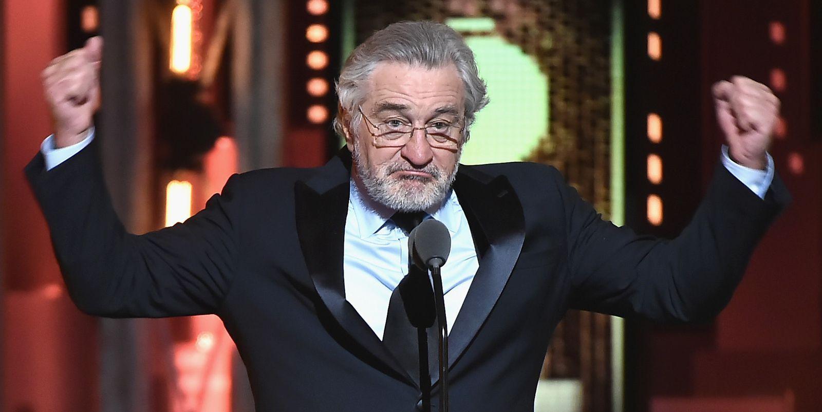 Robert De Niro Had One Thing To Say At The Tonys F K Trump