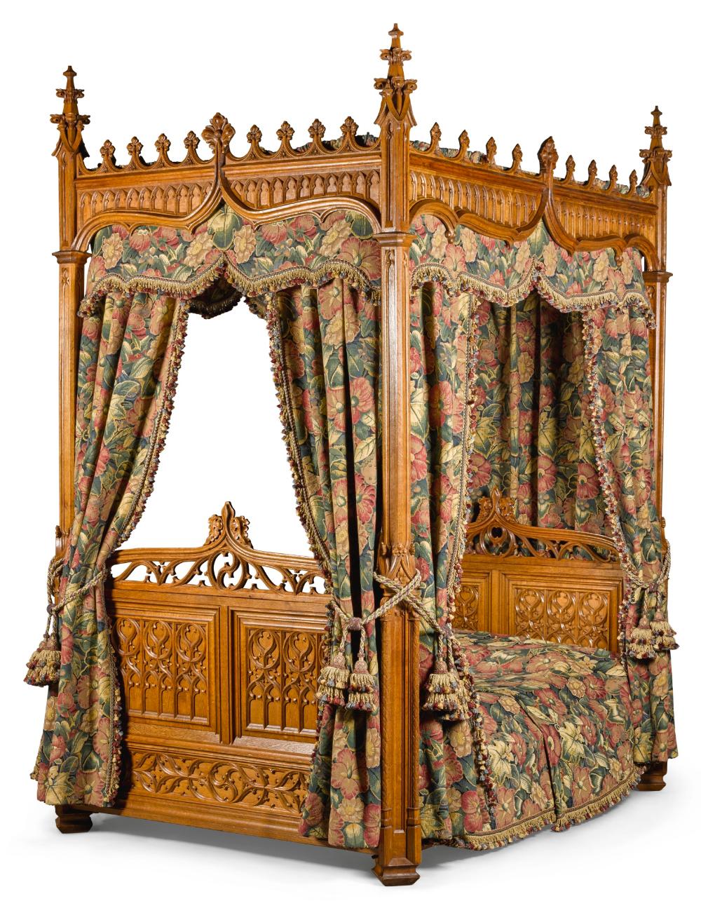 Bed Sotheby S L17305lot9bwfken In 2020 Gothic Bedroom Furniture Bedroom Furniture For Sale Gothic Furniture