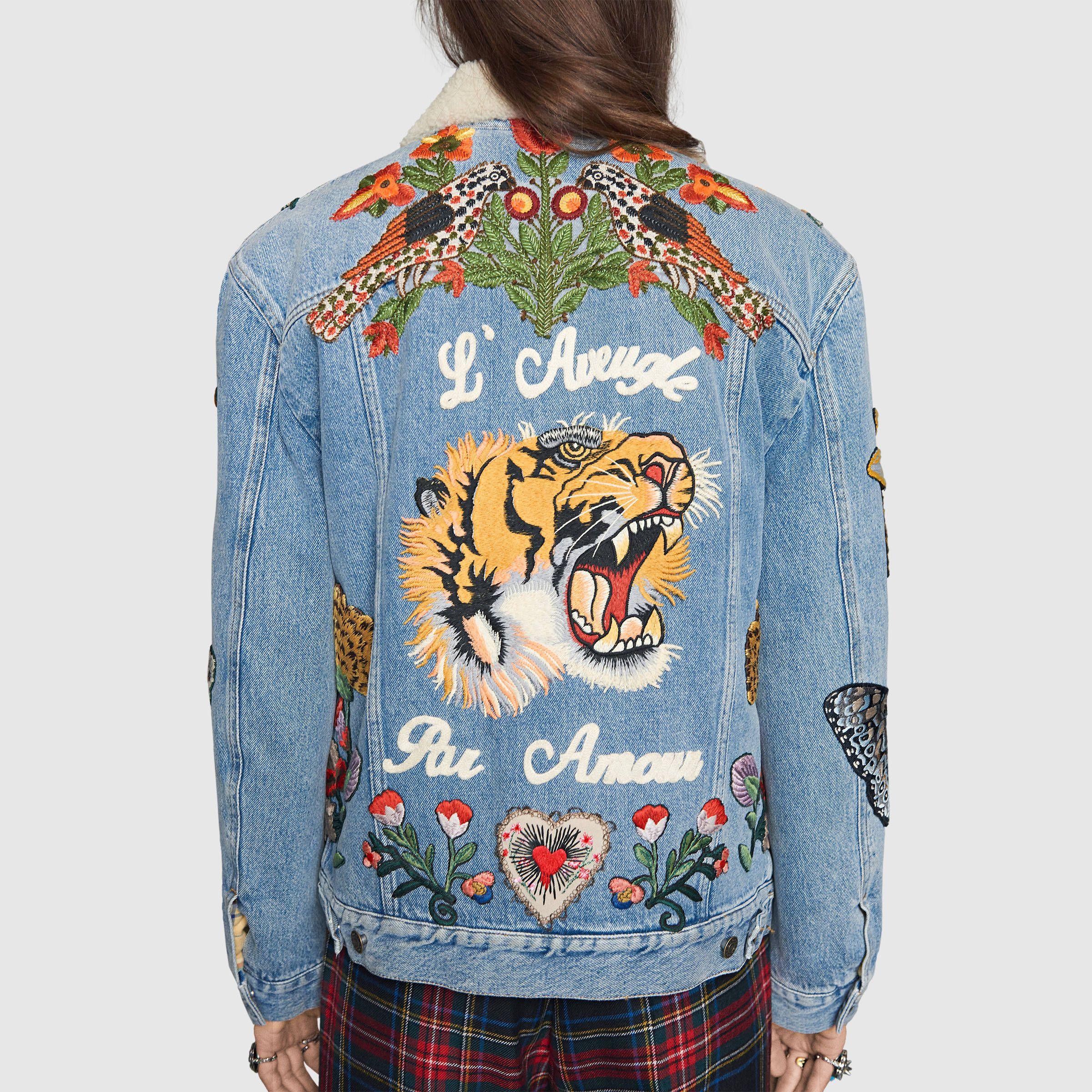 Levi's Japan Embroidered Denim Jacket - Men's XL