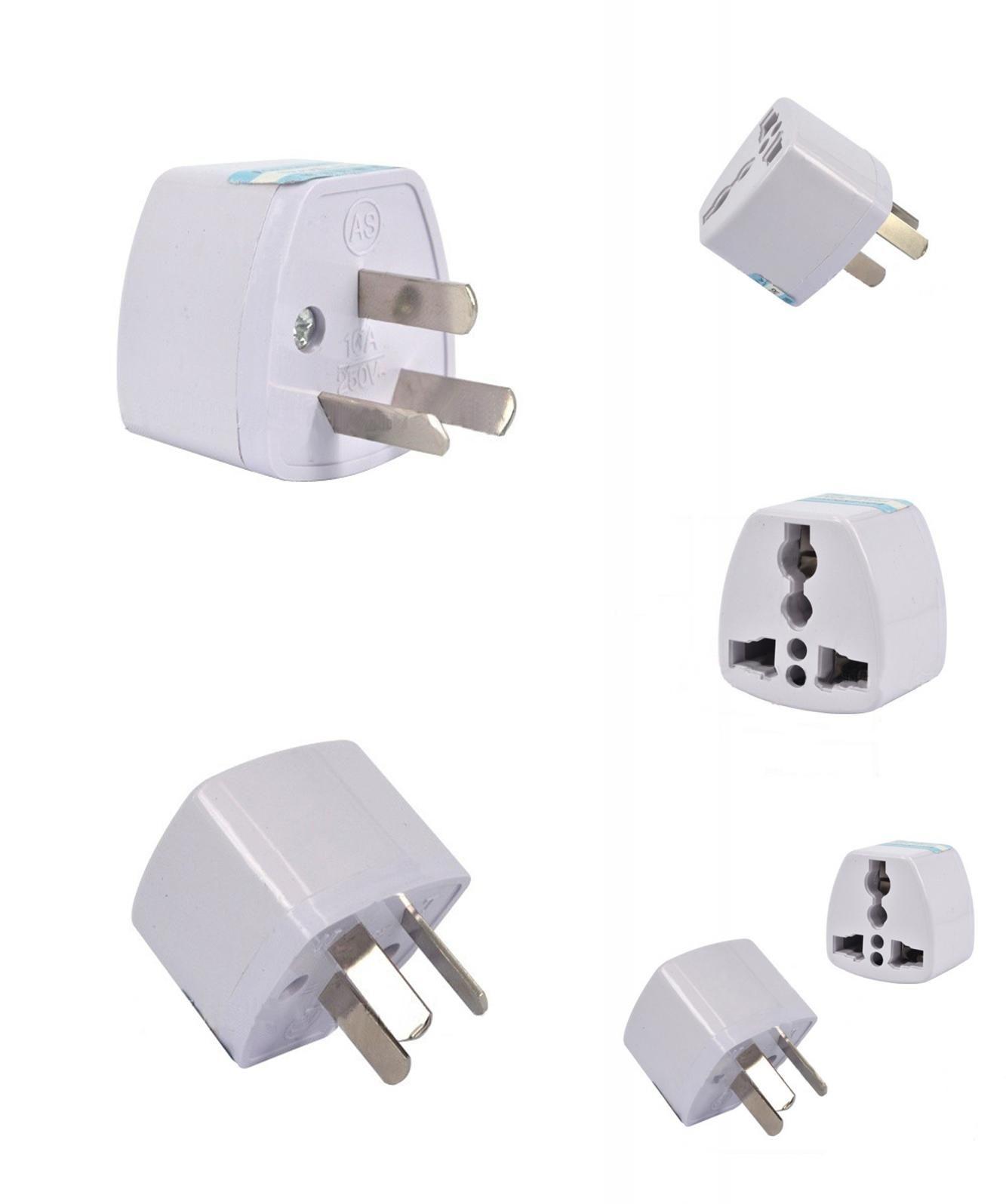 Travel Plug Adapter Adaptor 3 Pin Au
