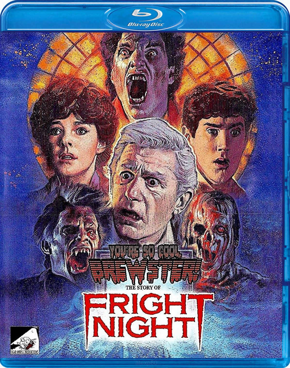 You Re So Cool Brewster The Story Of Fright Night Blu Ray Dead