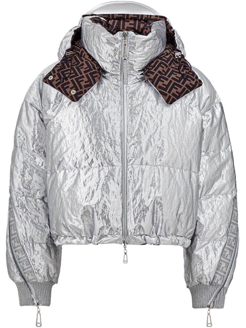 Fendi Fendi Prints On Reversible Padded Jacket Metallic Jackets Fendi Fendi Clothing [ 1334 x 1000 Pixel ]