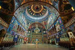 HDR of Orthodox Cathedral, Sibiu, Romania