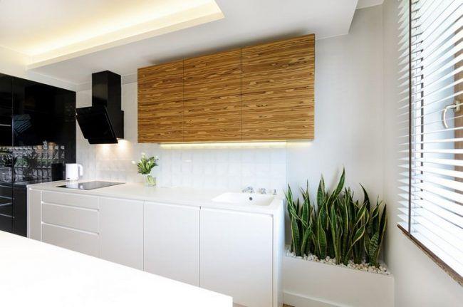 arbeitsplatten f r die k che 50 ideen f r material und farbe k che k chenarbeitsplatte. Black Bedroom Furniture Sets. Home Design Ideas