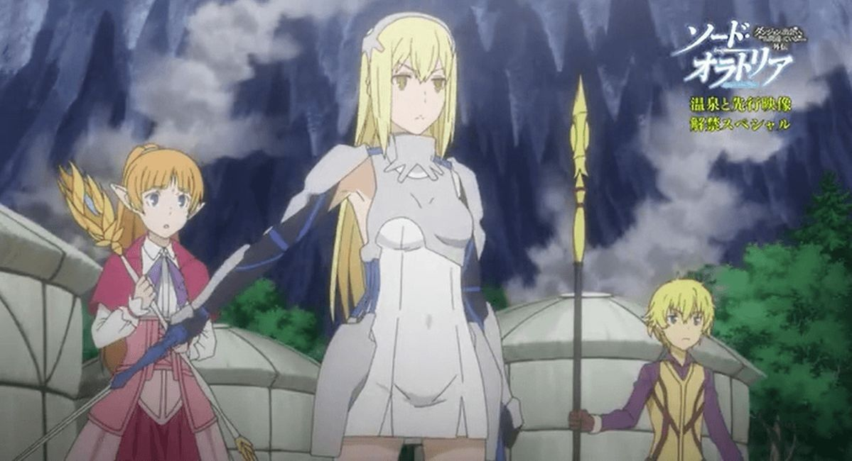 Ais Wallenstein #Danmachi #Crunchyroll #anime | Is It Wrong To Try