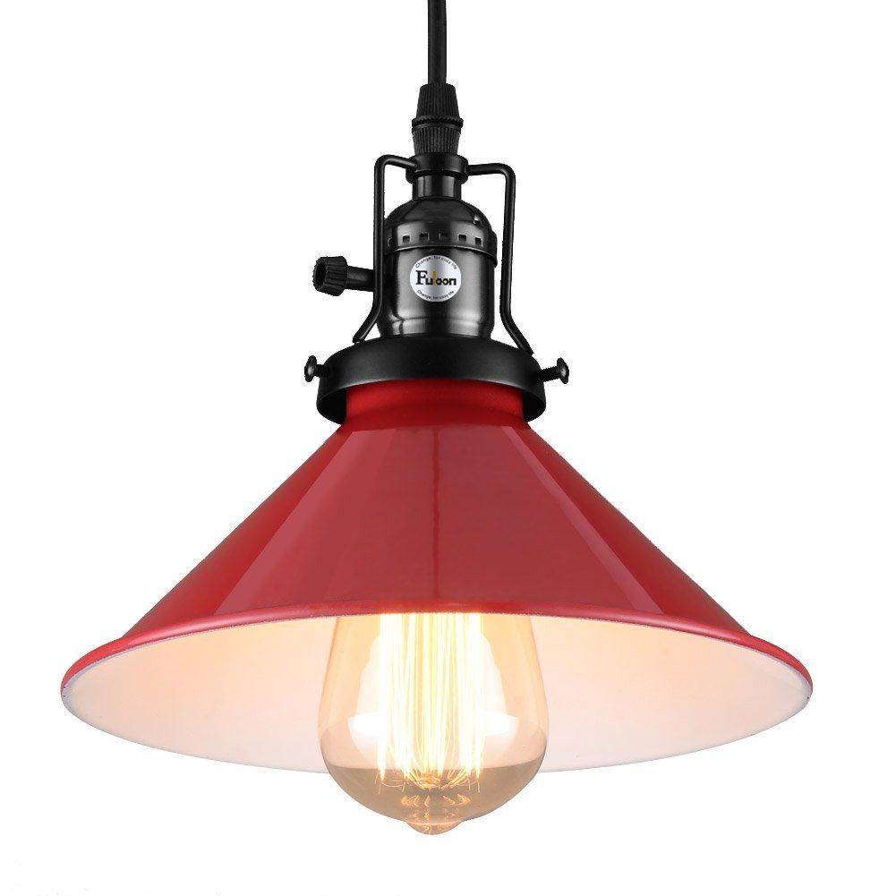 Fuloon Vintage Style Retro Industrial Ceiling Light Metal