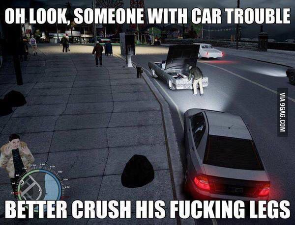 We All Did This Admit It Funny Games Gta Funny Gaming Memes