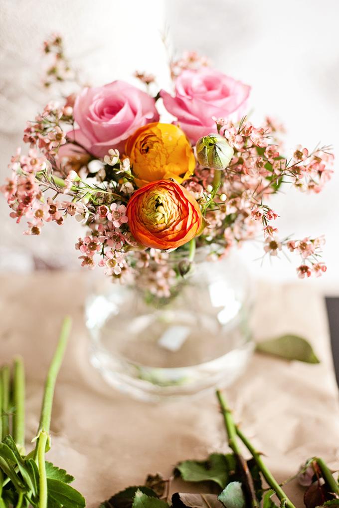 portrait // Lucie Beautiful flower arrangements, Pretty