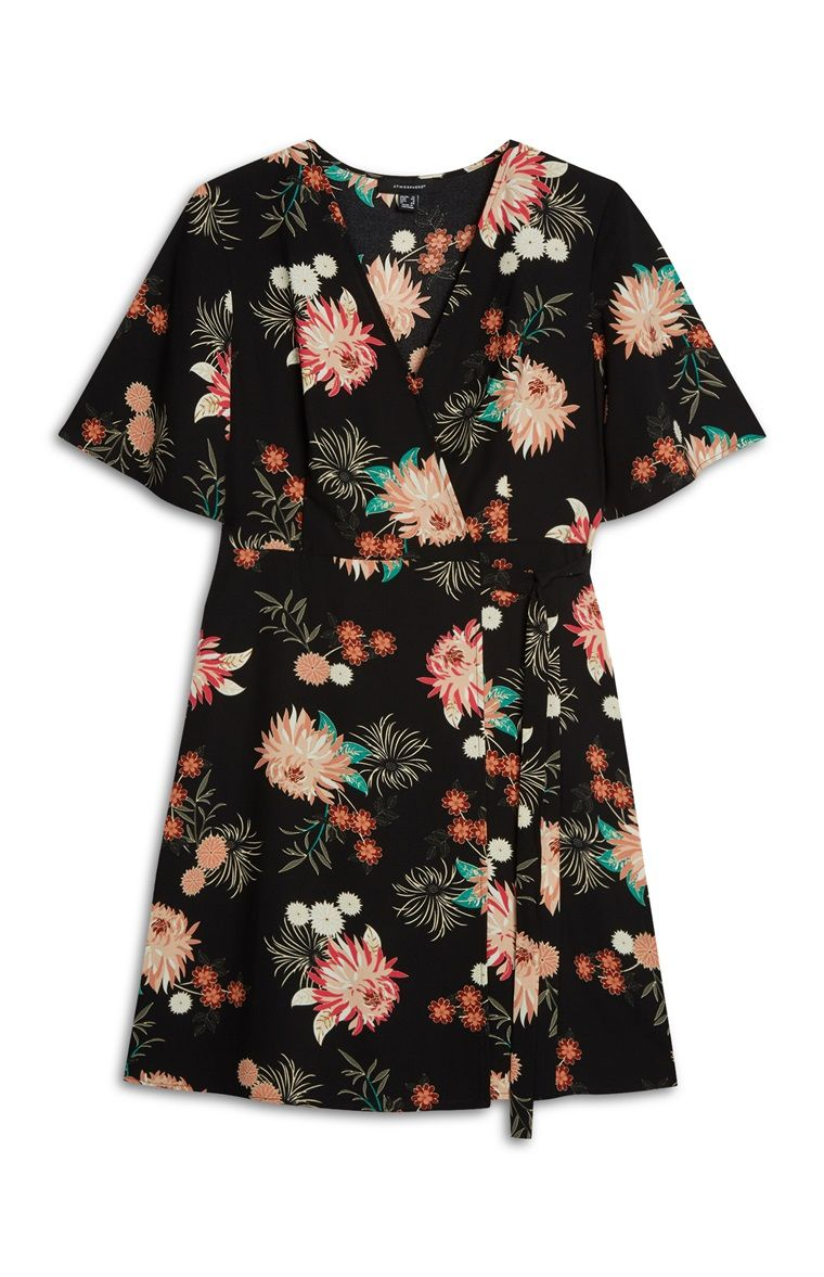 ef8d362231 Primark - Floral Print Wrap Dress