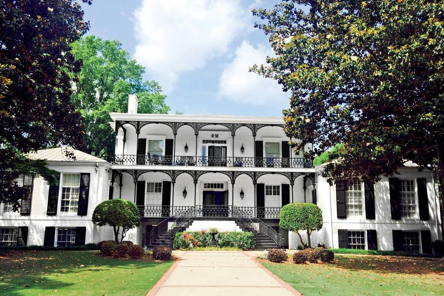 The South S Most Beautiful Sorority Houses House Greek House