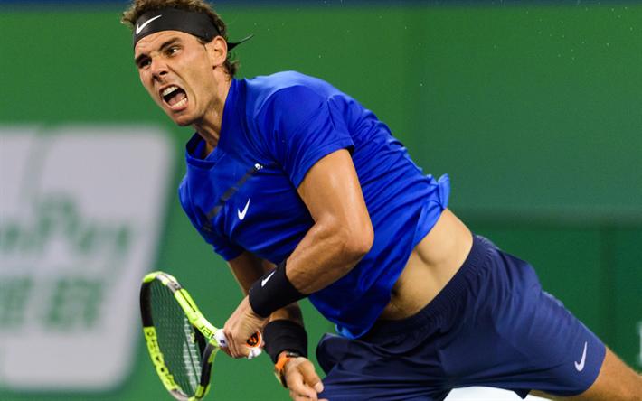 Download Wallpapers Rafael Nadal Tennis Player Atp Tennis 4k Athletes テニス選手 テニスプレイヤー テニス
