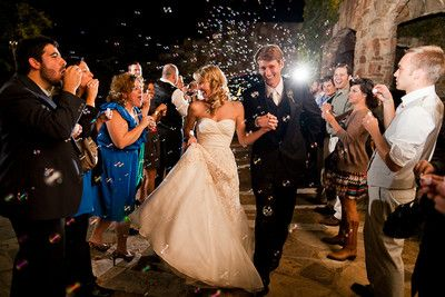 Wedding Bubbles Send Off