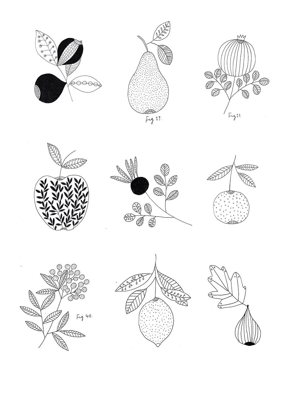 07bcf237913028afa85c61e9b2ad08b1 Jpg 1 000 1 414 Pixels 花の落書き バラ イラスト 手描きの花