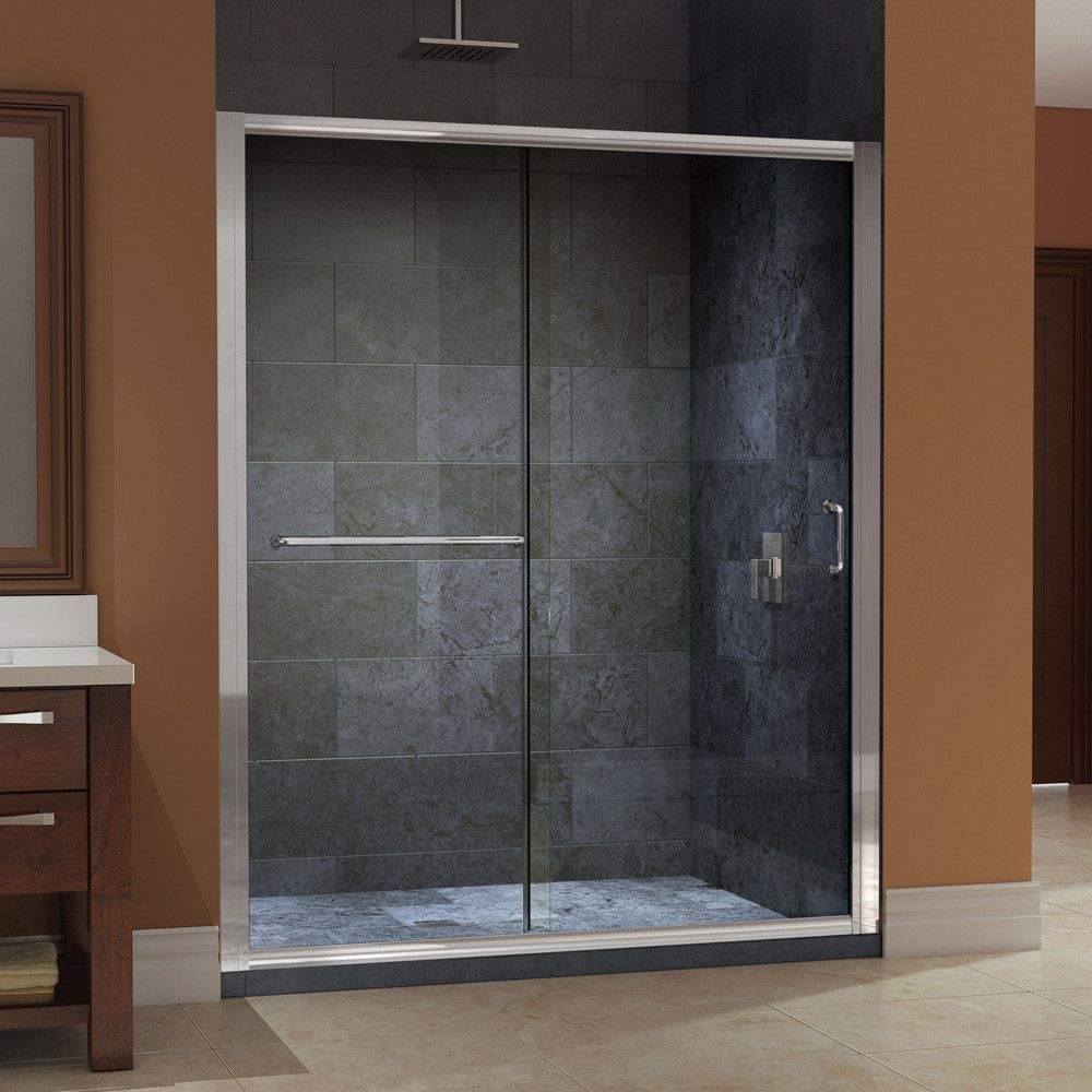 Sliding Shower Doors Without Bottom Track Shower Doors Sliding Shower Door Frameless Sliding Shower Doors