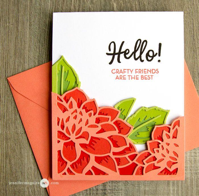 Layered Flower Leaves DIY Metal Cutting Dies Stencil Scrapbooking Paper Card
