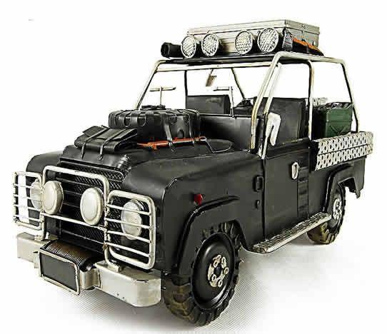 Handmade Antique Model Kit Car The 60 Anniversary Of The Land Rover Defender Svx Land Rover Land Rover Defender Model Kit
