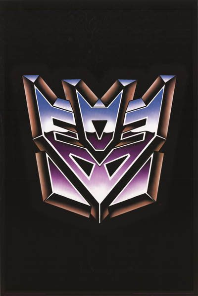 Decepticon And Autobot Logo Tattoo