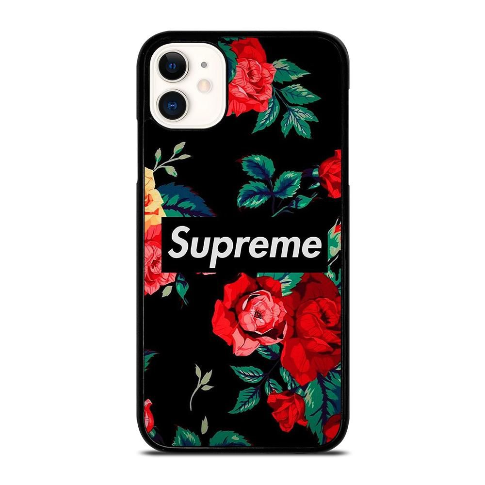 Supreme Flower Logo Iphone 11 Case Cover Casesummer In 2020 Iphone 11 Pro Case Iphone 11 Iphone