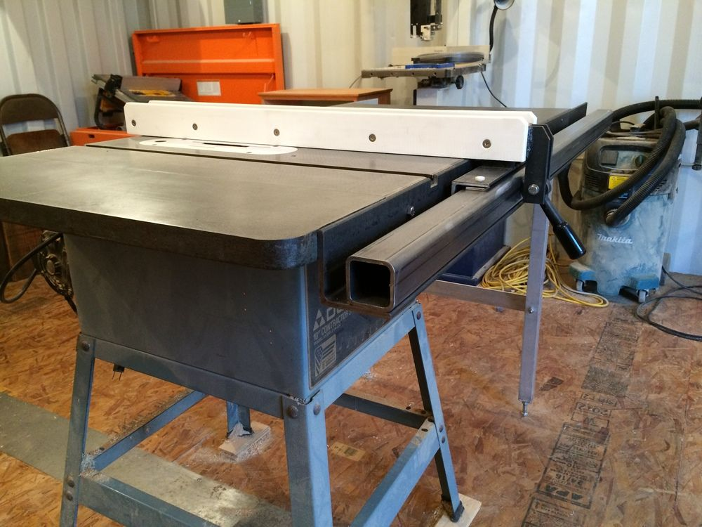 Biesemeyer style table saw fence Table saw fence, Table