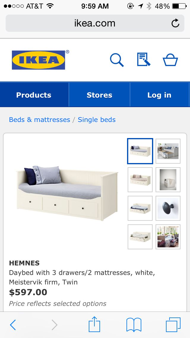 Ike's trundle bed