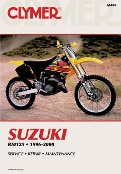 Suzuki Rm125 1996 2000 Clymer Motorcycle Repair By Penton Staff Haynes Manuals N America Inc Motorcycle Repair Clymer Suzuki