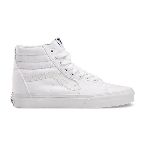 vans classic white high top