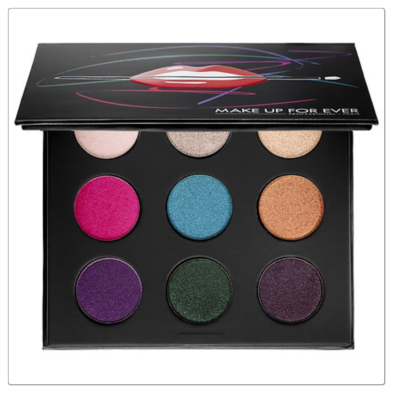 MAKE UP FOR EVER Artist Eyeshadow Palette Volume 2 Brand