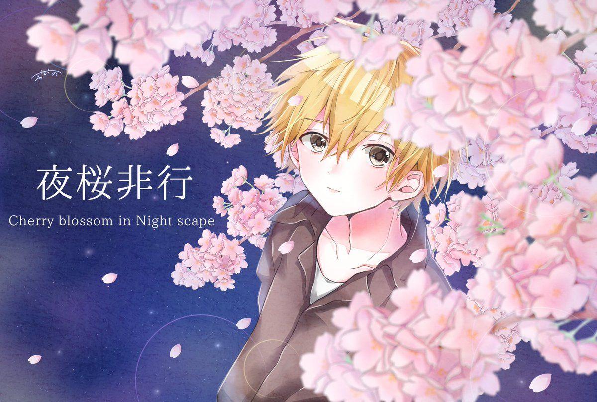 非行 夜桜