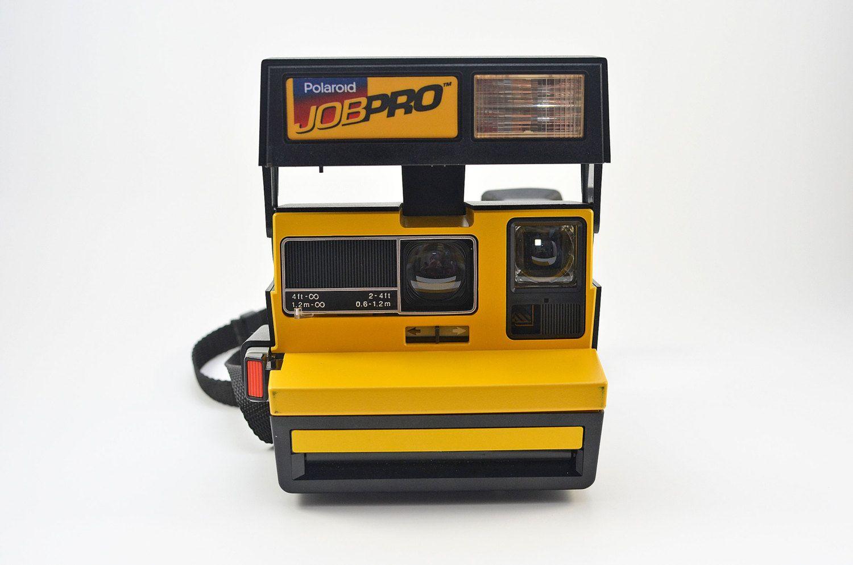 Polaroid JOB PRO Instant Film 600 Series Camera Mary kay