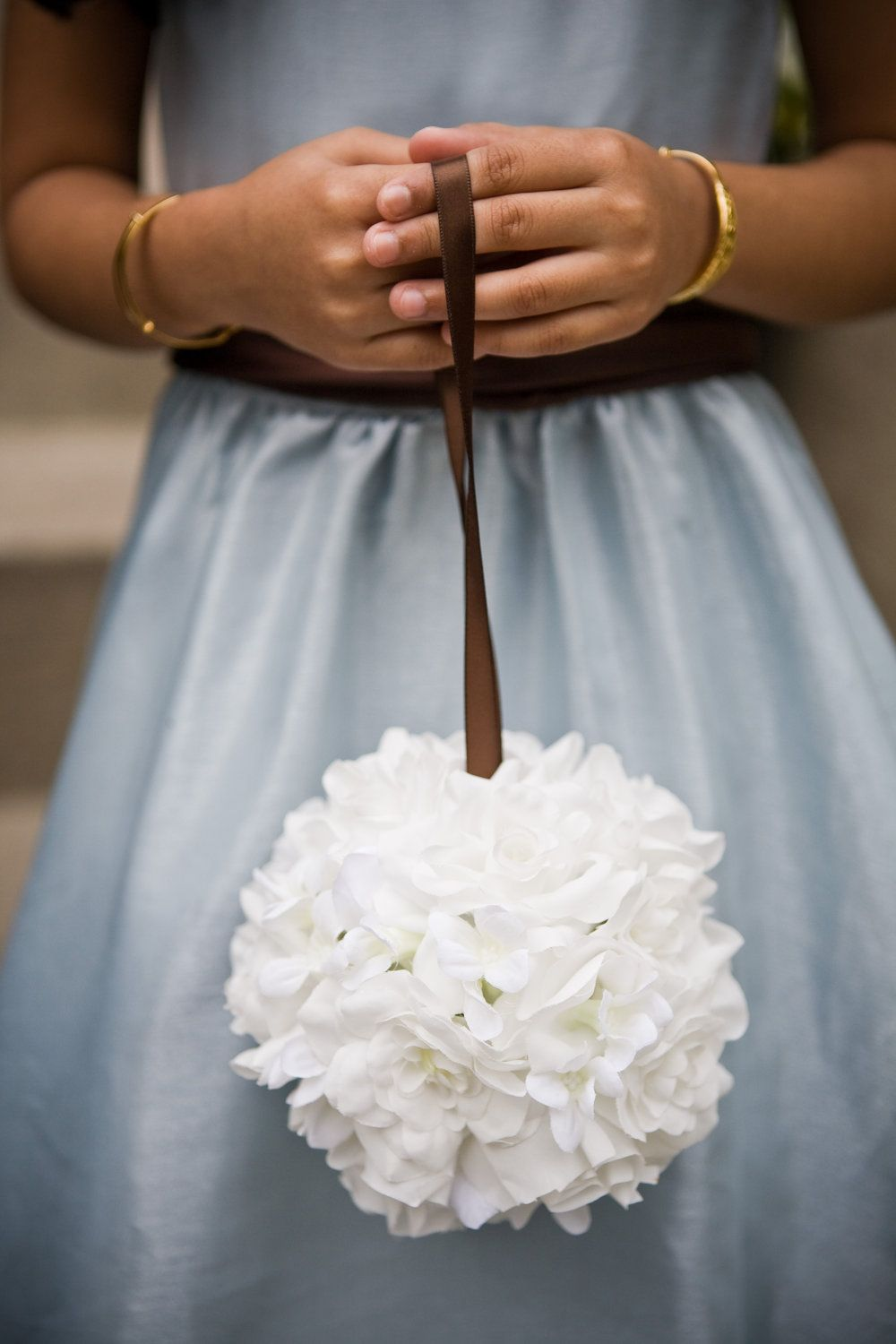 For flower girl to carry - this would be so easy and affordable to ...