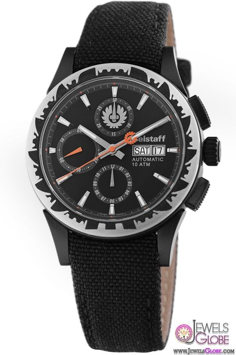 Belstaff Mens Adventure Collection Black Dial Chronograph Popular Watch
