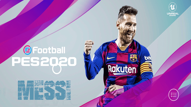 PES 2020 Mobile V4.1.0 New Patch Android in 2020 Pro