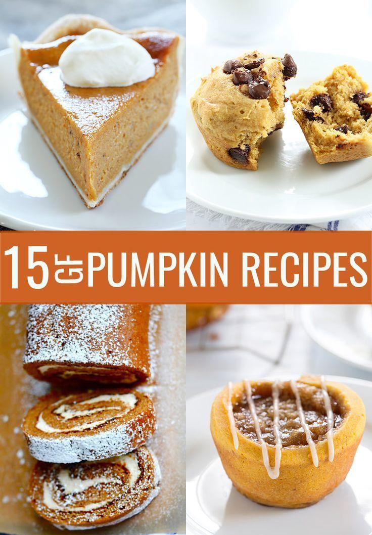 Gluten Free Pumpkin Recipes Pumpkin recipes, Gluten free