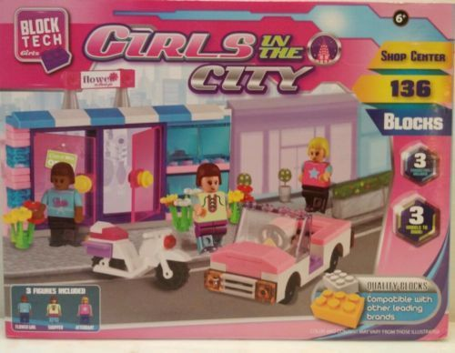 Block Tech Girls 136 block set Girls in the City Compatible 2014 New in box 6+