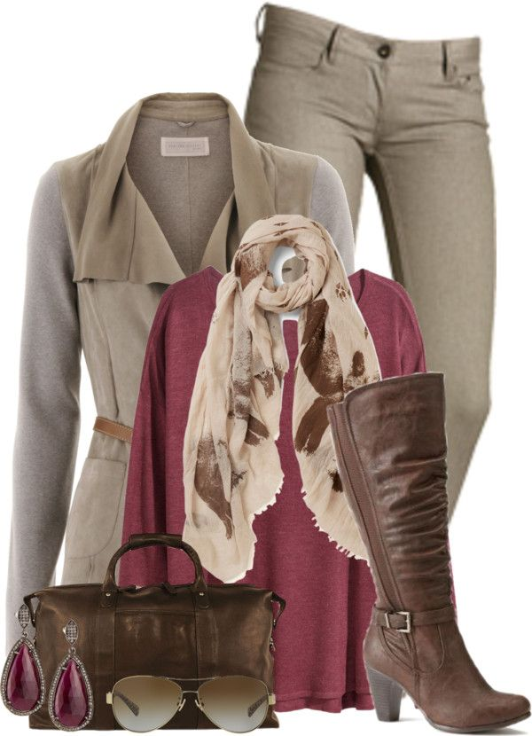 Stylish Pearl Grey Skinny Jeans Fall Outfit
