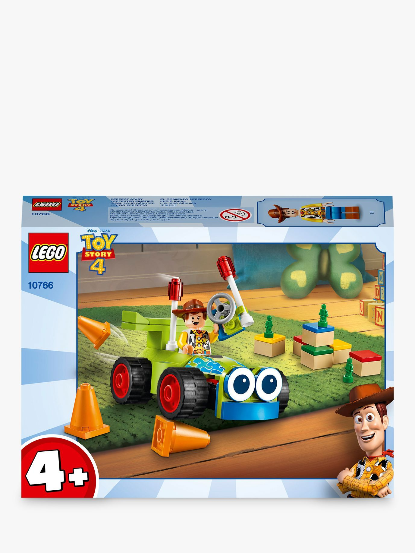 Toy Story 4 Woody /& RC Set with Minifigure LEGO 10766 4