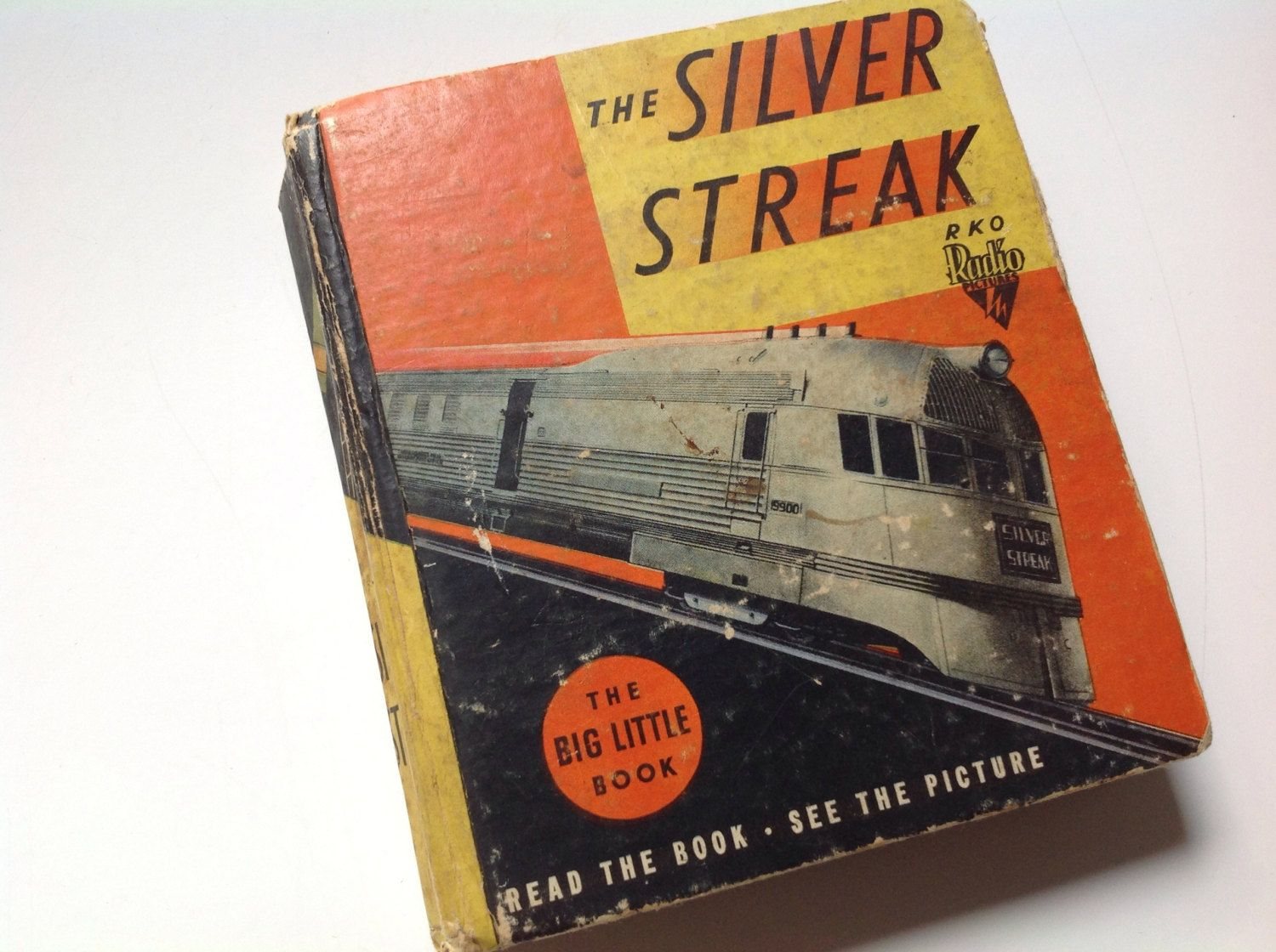 "Vintage book ""the silver streak"" storybook the big little book by Whitman publishing Racine Wisconsin by Hannahandhersisters on Etsy"