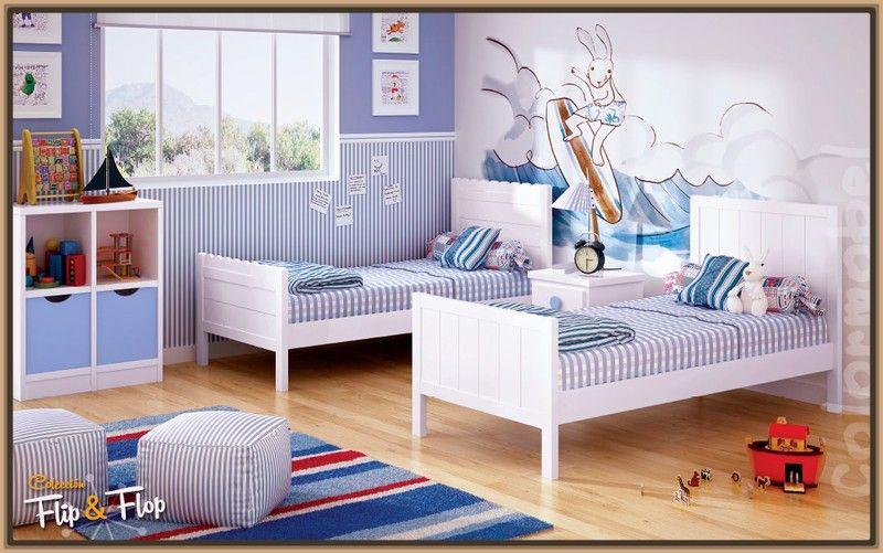Imagenes de camas gemelas para ninos dise o interiores for Camas gemelas juveniles