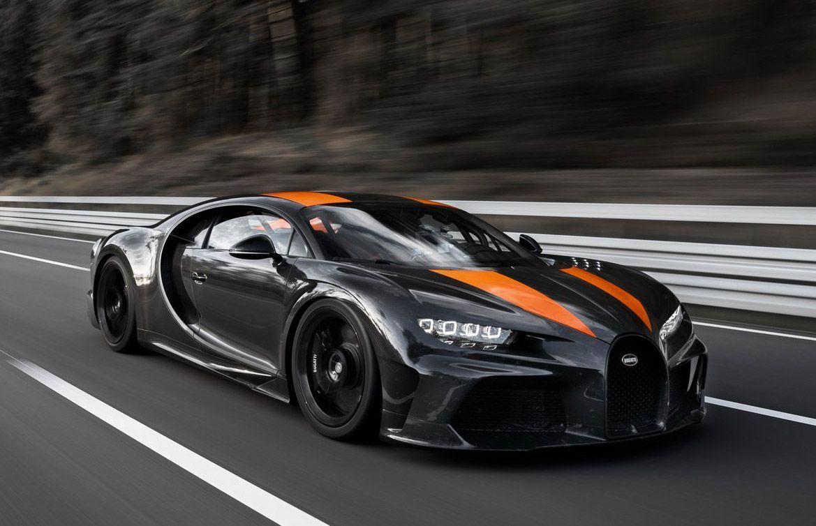 Bugatti Chiron Breaks 300mph Barrier Bugatti Mechta Bugatti Mechta In 2020 Bugatti Chiron Bugatti Fastest Production Cars