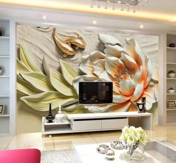 Fototapeta Piekny Duzy Kwiat 37905 Uwalls Pl Flat Screen Electronic Products