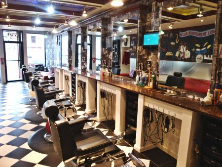 Barber Shop Design Ideas barber shop interior colors beauty salon designs salon interior design ideas ladies beauty parlour salon paint Barber Shop Style