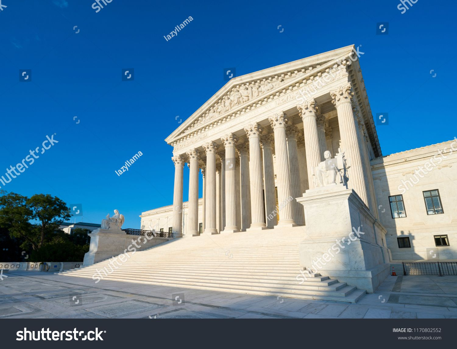 Neoclassical Columned Entrance Portico To The Us Supreme Court Building In Washington Dc Sponsored Sponsored Portico Supreme Court Building Neoclassical