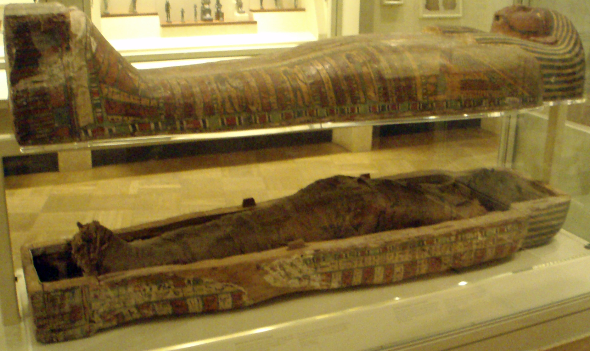 An Illustrated Description Of Mummies In Ancient Egypt