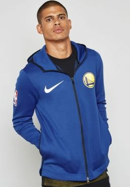 ebaa1a2a4586a7 Nike NBA Golden State Warriors Therma Flex Showtime FZ Hoodie Jacket ...